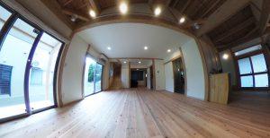 360°VR写真公開します 伊計島 木造住宅
